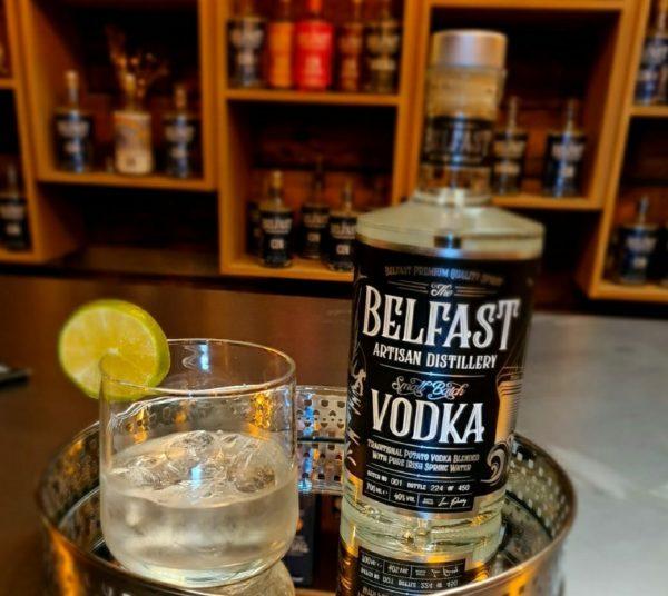Serving of Belfast Artisan Potato Vodka